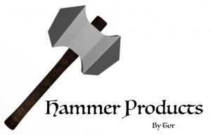Hammerproduktene med ny logo!